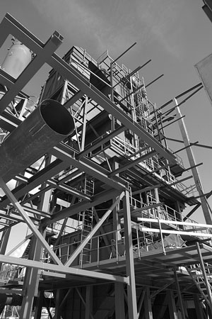 industrial construction project